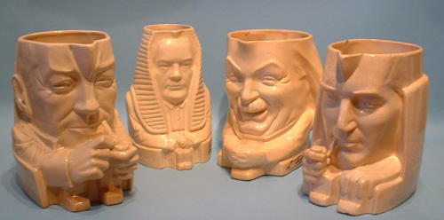 Political Figure Face Jugs