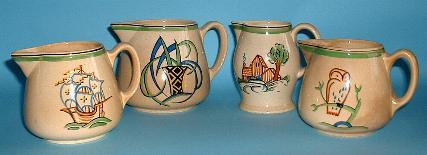 4 Ashtead jugs