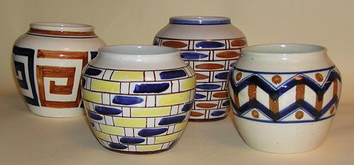Geometric vases
